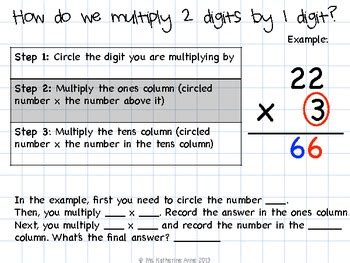 single digit vertical multiplication with regrouping 2 by 1 digit multiplication without regrouping by ld