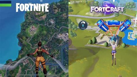 fortnite mobile  fortcraft  mobile battle royale