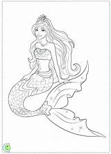 Mermaid Coloring Pages Realistic Barbie Easy Drawing Mermaids Printable Colouring Outline Print Getdrawings Draw Getcolorings Pag Tails Swimming Fantasy sketch template