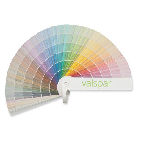 shop valspar 1750 color paint fan deck at lowes