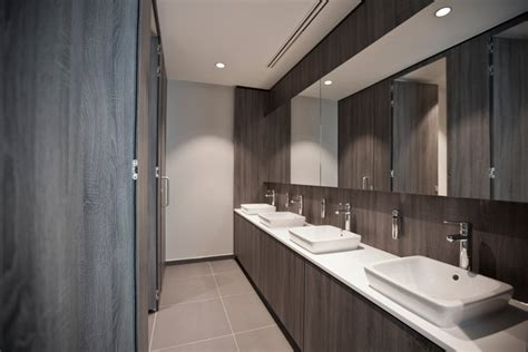 Lighting For Kitchens Ideas - canary wharf office toilet commercial profile interiors
