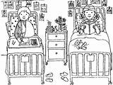 Coloring Medical Patient Hospital Pages Treatment Little Given Going Printable sketch template
