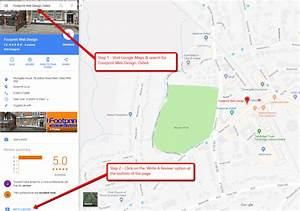 How To Leave A Review On Google Maps - Footprint Web Design