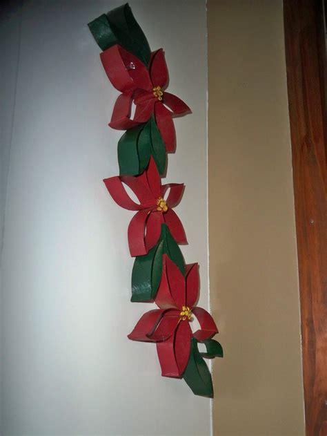 toilet paper roll poinsettia christmas toilet paper