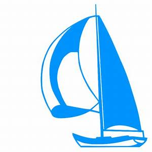 Sailing Boat Silloette - ClipArt Best