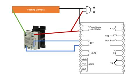 solid state relay connecting pid controller to ssr electrical engineering stack exchange