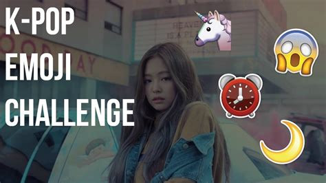 emoji challenge kpop