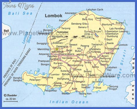 indonesia map tourist attractions toursmapscom