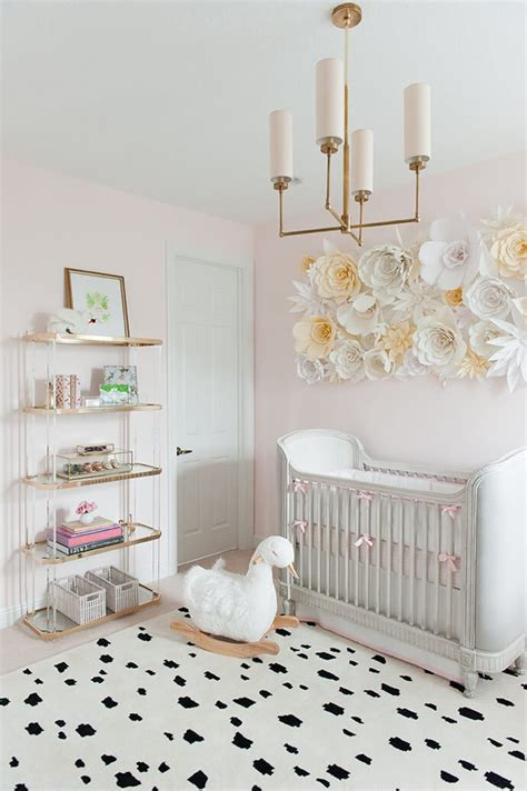 Touring A Sweet, Swanfilled Nursery  Glitter Guide