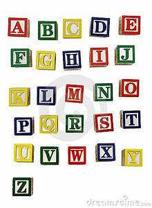 childrens alphabetical woodblocks font graphic design With kids block letters
