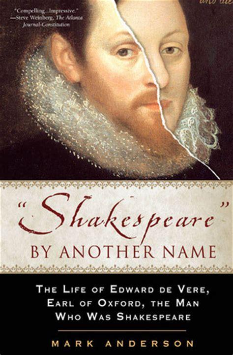 shakespeare     life  edward de vere