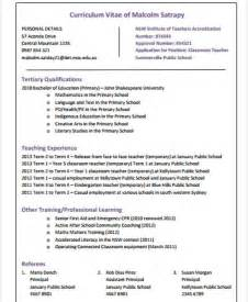 Resume Format For Primary Teachers by 40 Modern Resumes Free Premium Templates