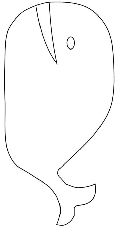 whale template bean bag whale
