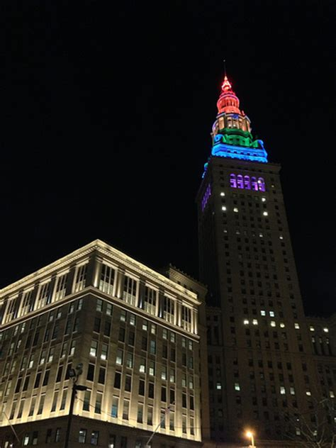 terminal tower observation deck cleveland international festival march 29 april 9 2017