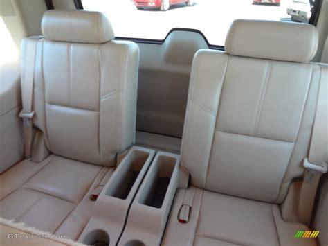2007 Chevrolet Tahoe Ltz Rear Seat Photo #73797707