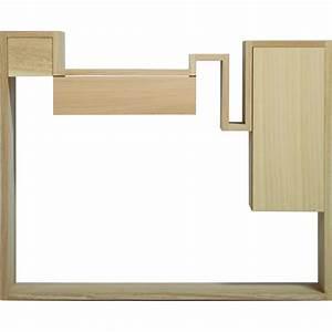 Mange Debout Avec Rangement : table console au design dstructur en bois glycine with mange debout avec rangement ~ Teatrodelosmanantiales.com Idées de Décoration
