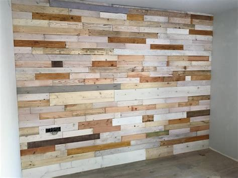 Diy Pallet Wood Wall Paneling  Pallet Ideas Recycled