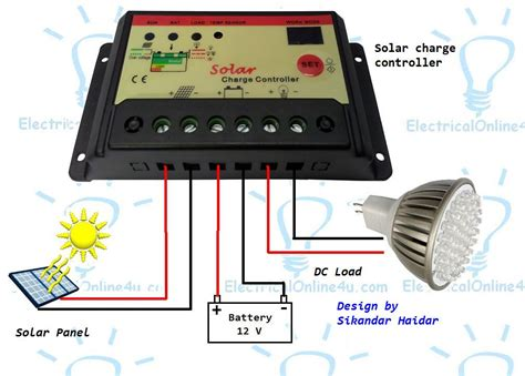 How Connect Solar Panel Battery With Mppt