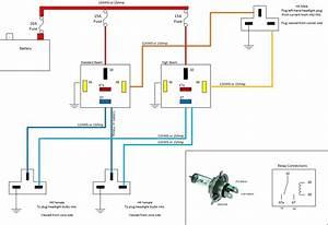 Basic Headlight Wiring Diagram Automotive