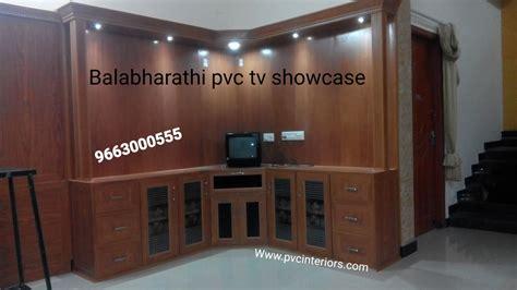 pvc tv showcasetv cabinet furniture  balabharathi