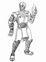 Mortal Kombat Coloring Sub Zero Dibujos Pintar Colorear Colorir Ausmalbilder Combat Printable Boys Vampirina Disney Malvorlagen Poder Worksheetpedia Kostenlos Zum sketch template