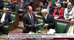 Nigel Farage hails moment Douglas Carswell is sworn in as ...
