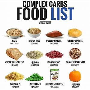 Pin On Complex Carbs