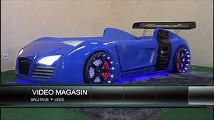 Lit Voiture Garcon : lit voiture pour enfant v8 youtube ~ Melissatoandfro.com Idées de Décoration