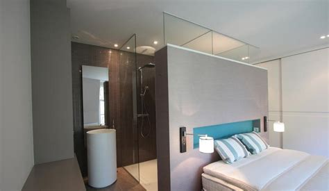 salle de bain ouverte dans chambre salle de bain ouverte à la chambre la suite parentale par