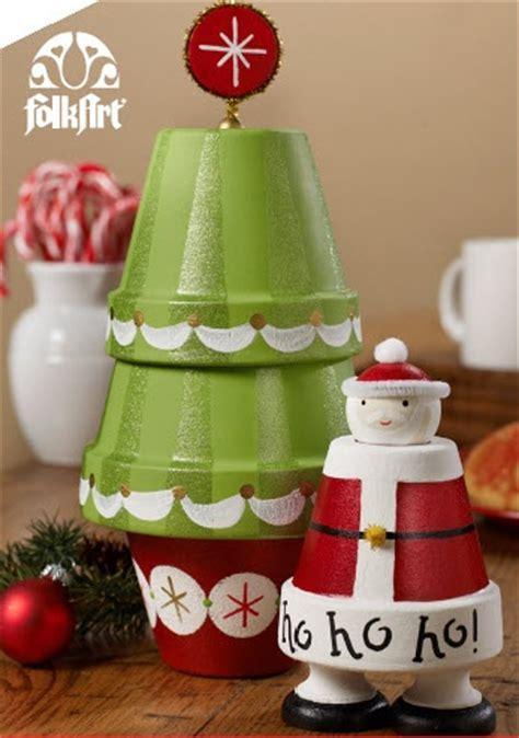 clay pot christmas decorations diy clay pot crafts beesdiy