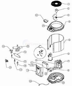 Jandy Pro Series Je 2000  Je2500  Je3000 Heat Pump Parts Diagram