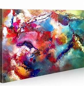 Gemalte Bilder Auf Leinwand : abstrakt bilder wohnaccessoires online bestellen woonio ~ Frokenaadalensverden.com Haus und Dekorationen