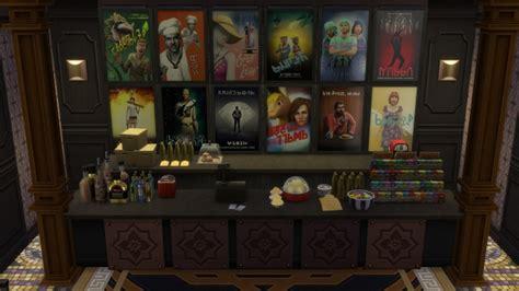 cinema sims  updates  ts cc downloads