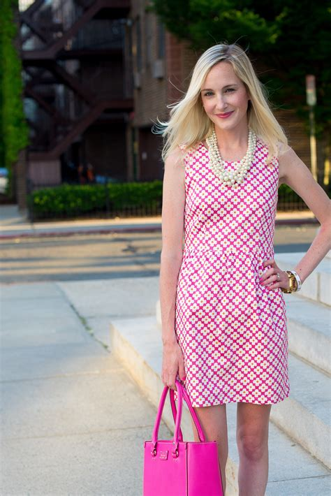 julie brown designs julie brown dresses and pops of pink in the city