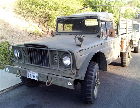 Just A Car Guy I Tank U A Cool Old Military Jeep Truck
