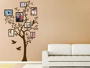 Sticker Für Die Wand Kinderzimmer : wandtattoo fotorahmen im baum bei ~ Michelbontemps.com Haus und Dekorationen