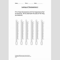 Thermometer Worksheets By Chrisphughes  Teaching Resources Tes