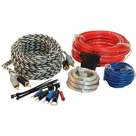 Scosche Gauge Wiring Kit For Single Amps Walmart