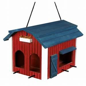 Balkontisch Zum Aufhängen : vogelfutterhaus zum aufh ngen rot aus holz 55853 von ~ Lizthompson.info Haus und Dekorationen