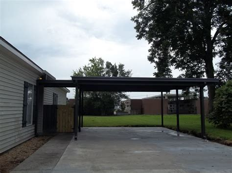 attached wood carport kit prices home design and decor