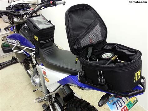 Yamaha Wr250r Pro Moto Billet Cargo Rack With Wolfman Peak
