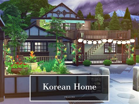 Korean Home By Pralinesims At Tsr Sims 4 Updates