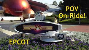 Mission: SPACE POV HD On-Ride Disney World Epcot GoPro ...