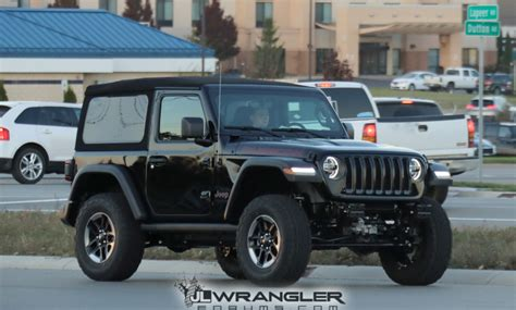 2018 Jeep Wrangler Jl Colors by Rubicon Sport And Overland Jl Wranglers Spotted