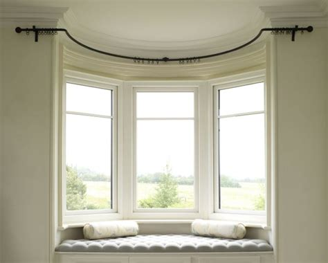 Bed Bath And Beyond Curtains And Rods by Bay Window Poles Made To Measure Made By The Forge Blog