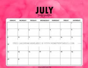 July 2017 Calendar Printable Org