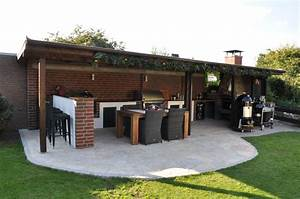 Outdoor Küche überdacht : berdachung au enk che bau meiner grill und bbq au enk che gartenk che teil berdachung ~ Orissabook.com Haus und Dekorationen