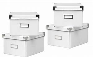 Ikea Aufbewahrungsboxen Mit Deckel : aufbewahrungsbox wei mit deckel ~ Watch28wear.com Haus und Dekorationen
