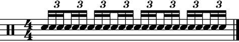 How to notate triplets in written music. Sextuplets