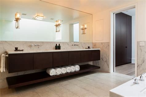 floating cabinets bathroom reasons to choose a floating vanity for your bathroom